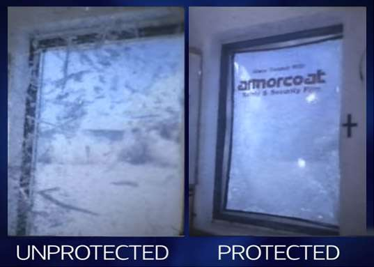 Safety And Security Window Films Protecting Glass Saving Lives
