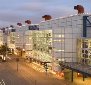 george-r-brown-convention-center-security-film-install